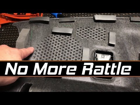 Dodge Challenger Rear Deck Rattle Fixed