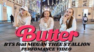 K Pop In Public One Take Bts Butter Feat Megan Thee Stallion Dance Cover By Bloom S Russia
