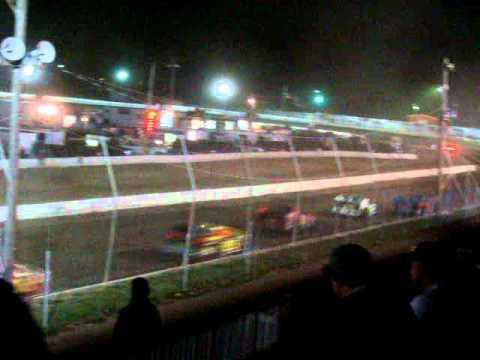 Orange County Fair Speedway opening night