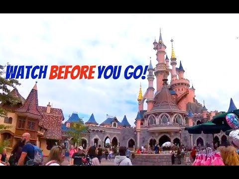 Disneyland Paris WALKING TOUR