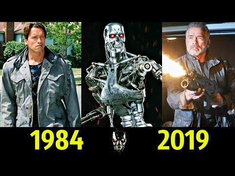 🔥 Терминатор - Эволюция (1984 - 2019) ! Все Появления Арнольда Шварценеггера 💪 !