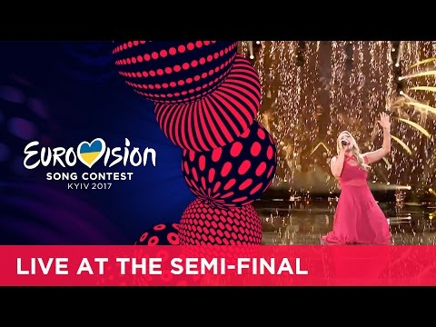 Anja - Where I Am (Denmark) LIVE at the second Semi-Final
