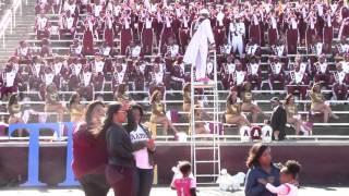 2015 Jackson State @ AAMU Band - Trumpet Fanfare Battle
