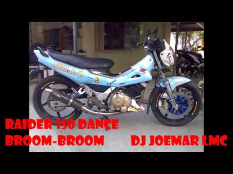 Dj Joemar LMC - Raider 150 Dance. Broom! Broom!