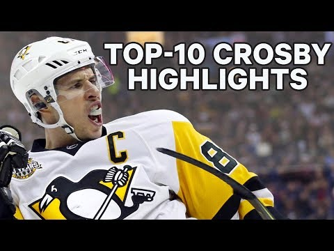 Top-10 Sidney Crosby NHL Highlights
