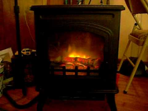 Our New Quality Craft Electric Fireplace Stove Video Reponse to ...