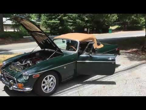 MGB Supercharged '75 Video and pics