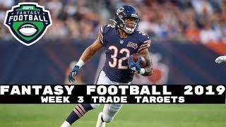 2019 Fantasy Football- Week 3 Trade Targets (Buy Low Trades)