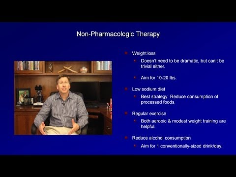 Hypertension Treatment Thresholds and Lifestyle Modifications
