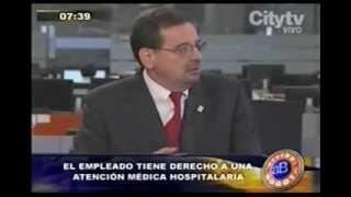 """Entrevista Seguridad en ambientes laborales """"Le Tengo El Remedio - Arriba Bogotá - Citytv"""""""