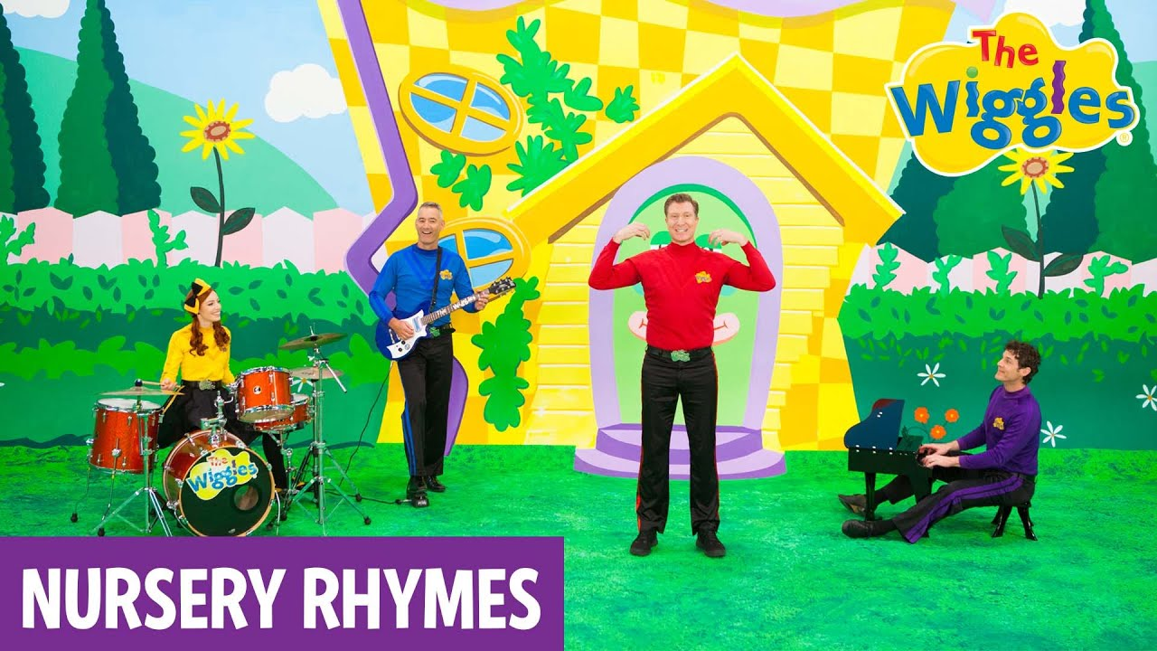wiggles nursery rhymes head shoulders knees toes youtube