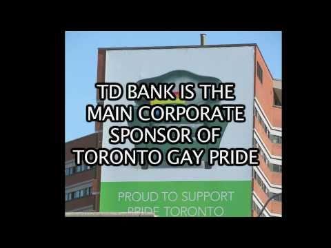 TD BANK AND TORONTO GAY PRIDE