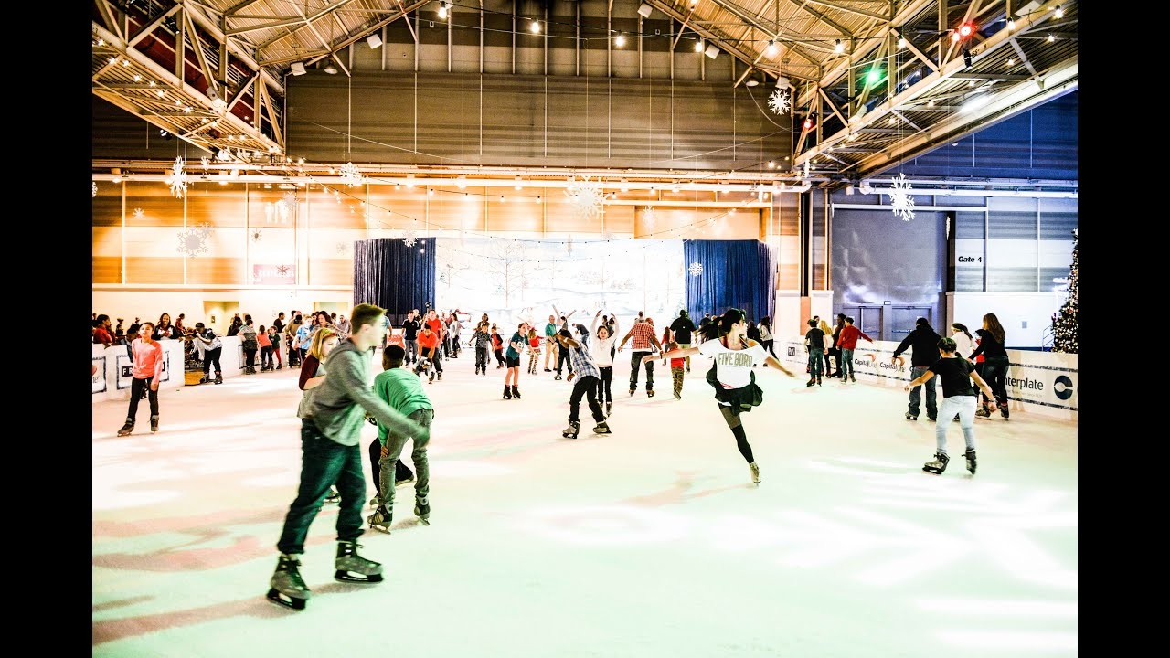 NOLA Christmas Fest On The Ice 360 - YouTube