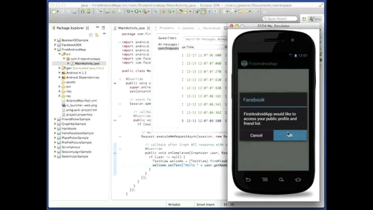 How to develop a Facebook application in four (simple) steps