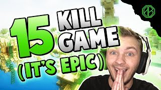 EPIC 15 KILL GAME + SOUR LIQUID! ( Hypixel Skywars FUNNY MOMENTS )