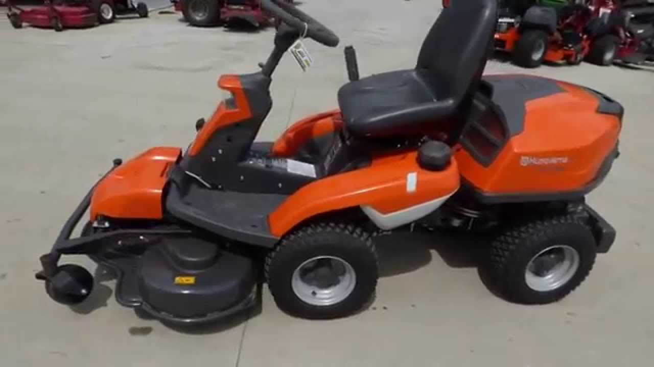 Used Demo Husqvarna R322t Awd 41 Quot Articulating Rider With