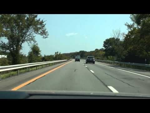 I-84 east in New York State from Pennsylvania all the way to Connecticut (part 1 of 3)