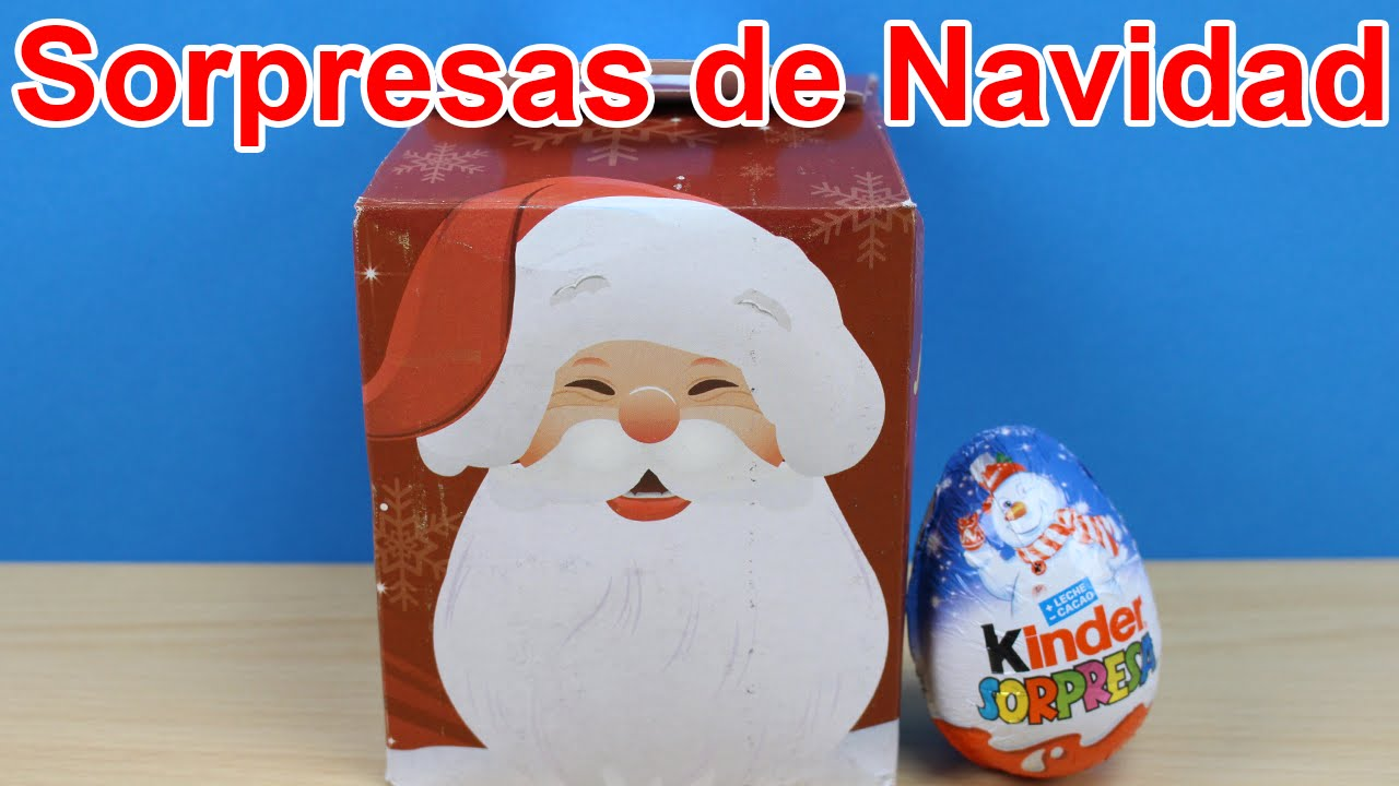 Huevo kinder sorpresa de navidad en espa ol caja - Sorpresas para navidad ...
