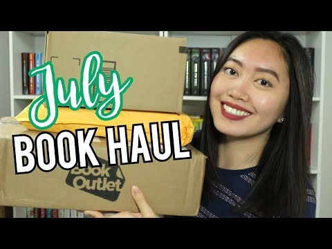 July Book Haul + Unboxing 2017   BookOutlet, SourceBooks, & Amazon