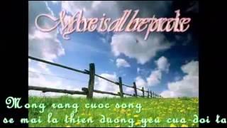 Học tiếng Anh qua bài hát Love paradise