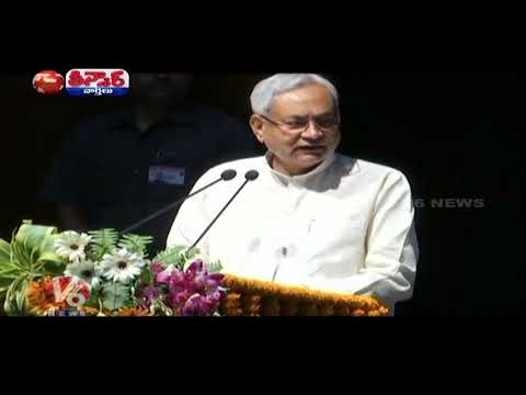 Bihar CM Nitish Kumar Poll Advice To Women Voters In Madhubani Rally | Teenmaar News | V6 News