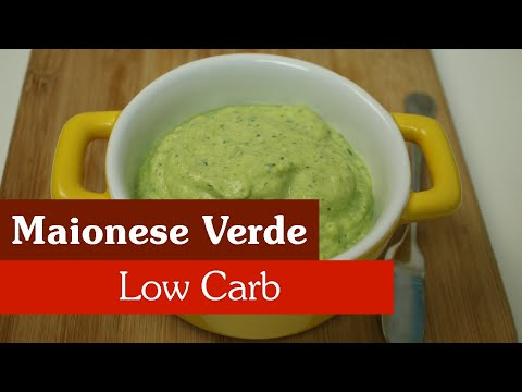 MAIONESE VERDE LOW CARB!