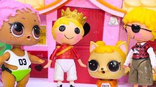 #Куклы ЛОЛ Смешные мультфильмы с куклами LOL Surprise #20 Baby Dolls