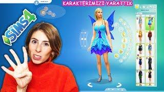 The Sims 4 Barbie Karakterimizi Yarattık Dila Kent