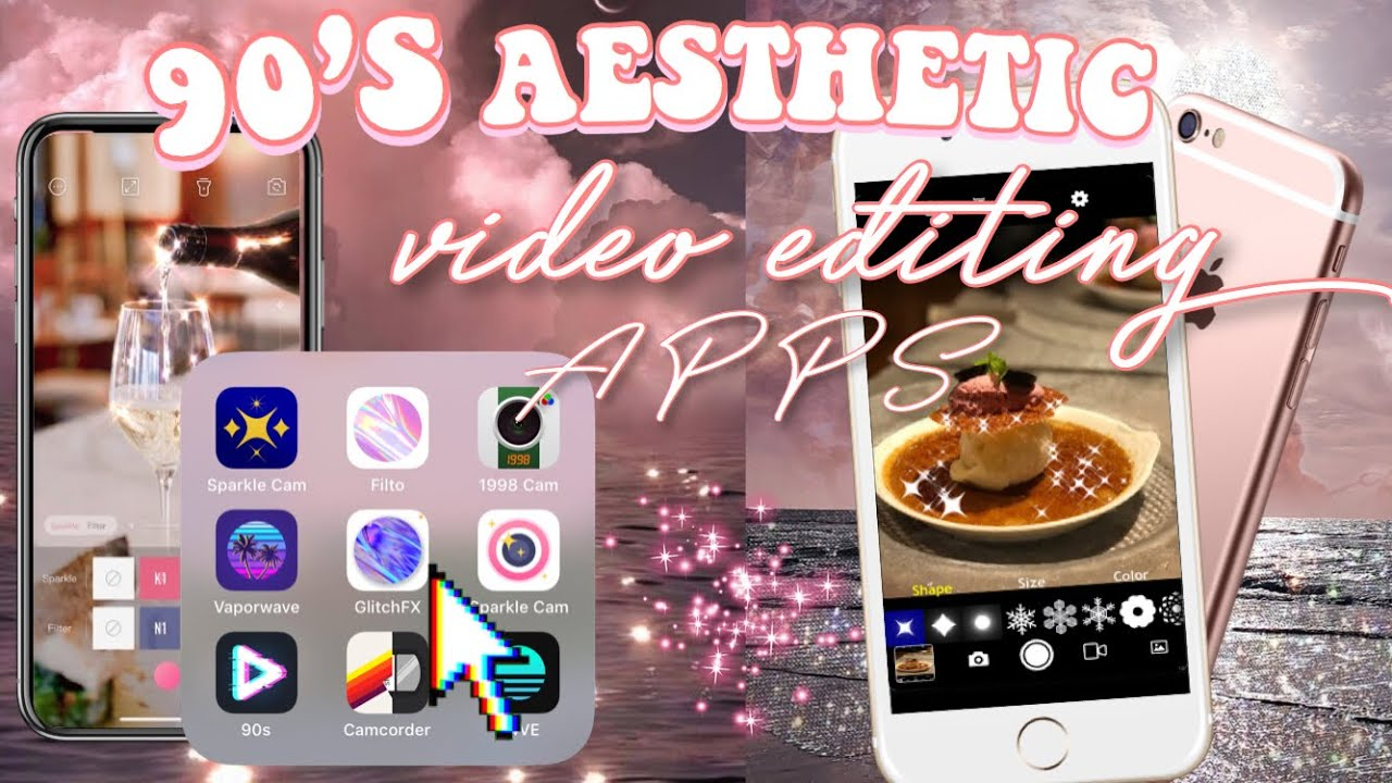 90 S Aesthetic Video Editing Apps For Iphones For Ios And Android Youtube