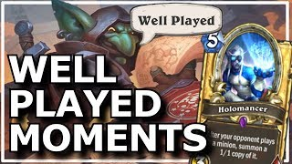 Hearthstone - Best of Well Played Moments