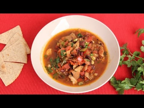 Chicken Tortilla Soup Recipe- Laura Vitale