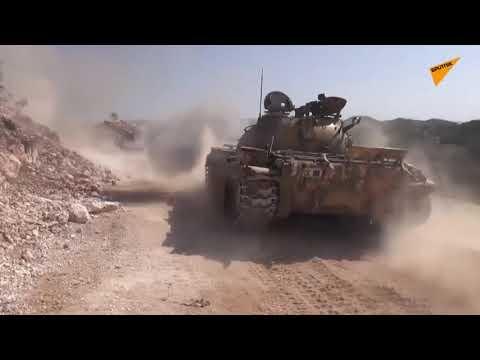 Syrian Military Bombs Jihadist Stronghold In Northeast Latakia