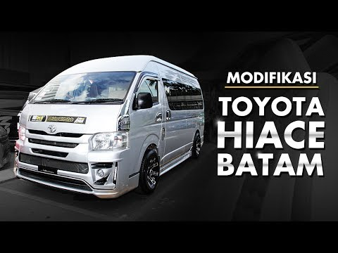 IAM MBtech 2017 Batam- Toyota Hiace