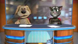 Talking Tom and Ben sing Dynamite Taio Cruz