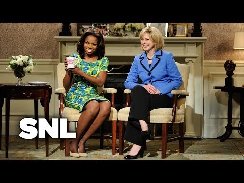 Michelle Obama and Hillary Clinton Argue About Who Is the Better First Lady - SNL