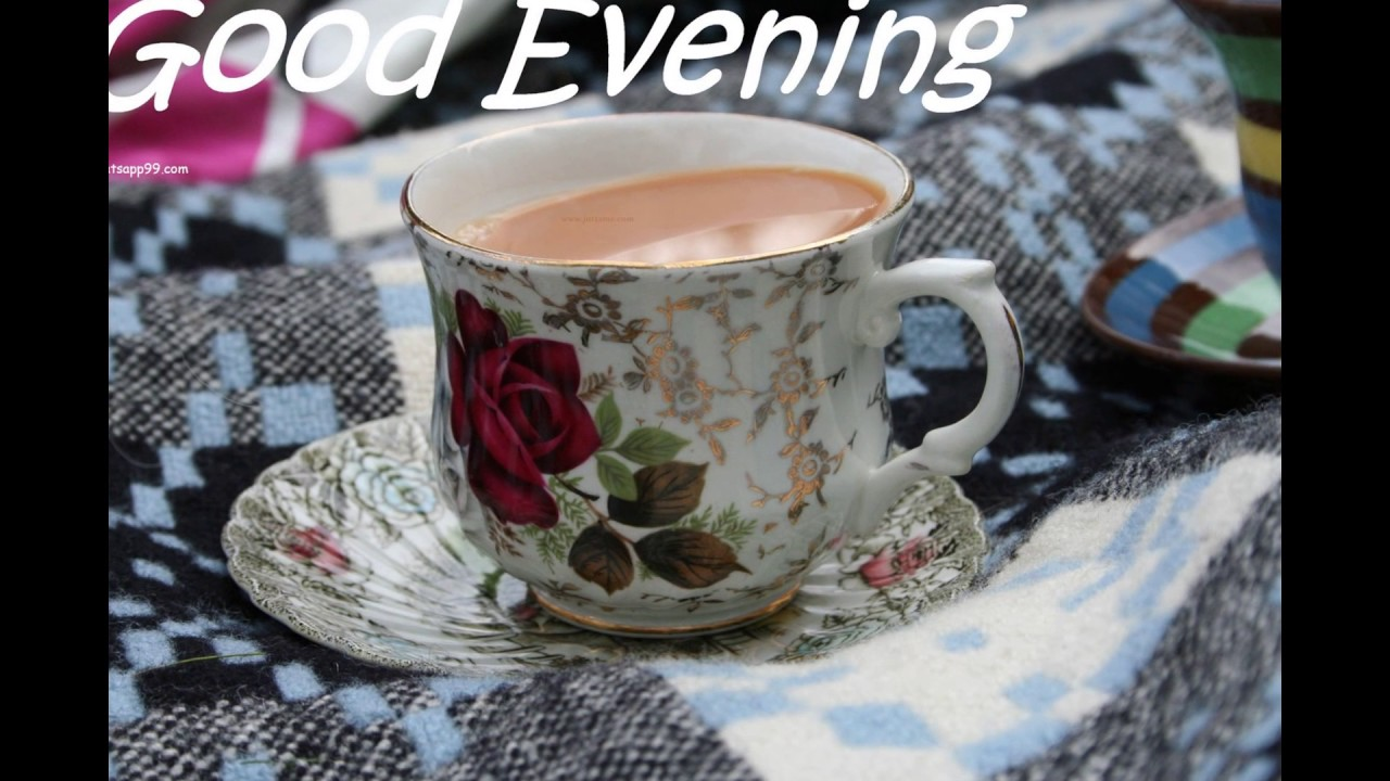 Good Evening Piks Wid Tea Youtube