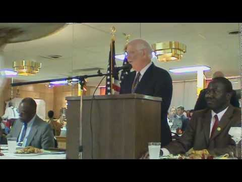 U.S. Senator Ben Cardin  Speaks at the International Day for the Eradication of Poverty
