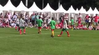 E-Jgd. Mini-WM SENEGAL - MEXIKO; FINALE KAUFLAND-Kidscup 17.06.2018 Frankfurt
