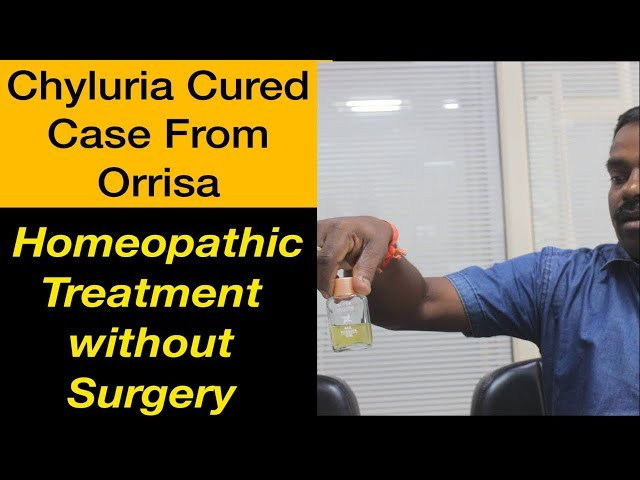 Chyluria Milky Urine Disease Cured case from Orrisa