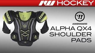 Warrior Alpha QX4 Shoulder Pads Review