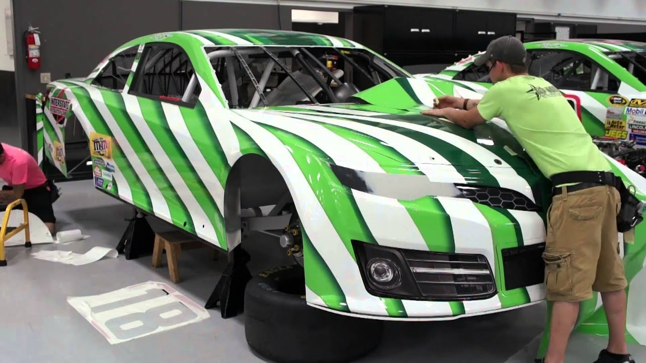 Who Makes Interstate Batteries >> Kyle Busch's New Interstate All Battery Center Paint