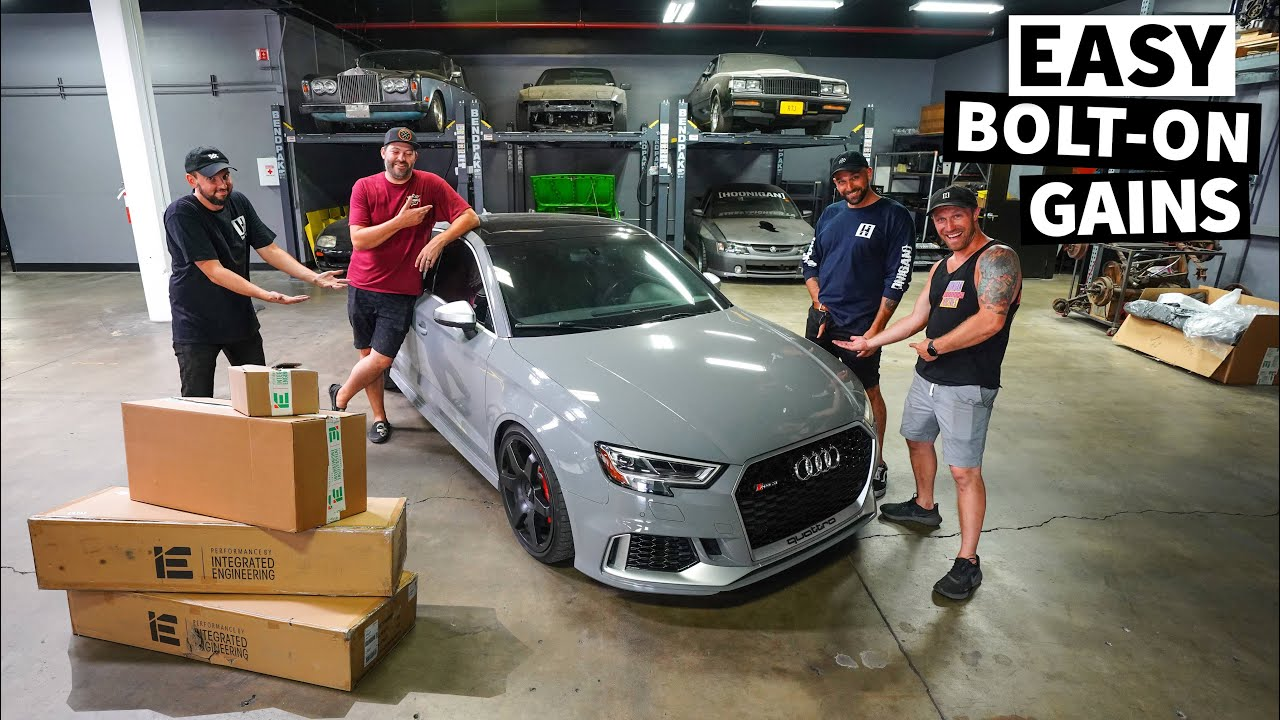 Our RS3 Giveaway Car Surprises us at the Dyno, in The Quest For Bolt-On Power