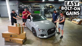 homepage tile video photo for Our RS3 Giveaway Car Surprises us at the Dyno, in The Quest For Bolt-On Power