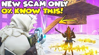 NEW SCAM 0% KNOW! 😱 (Scammer Gets Scammed) Fortnite Save The World
