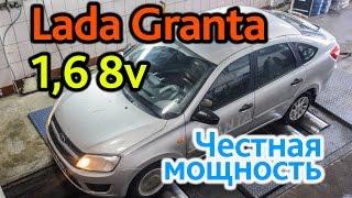 Lada Granta 8v: валит почти как 16v!