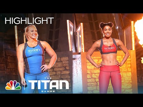 Nikkie Neal and Charity Witt Battle on Mount Olympus - Titan Games 2019