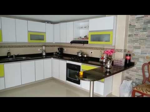 Cocina integral moderna youtube for Cocina integral blanca moderna