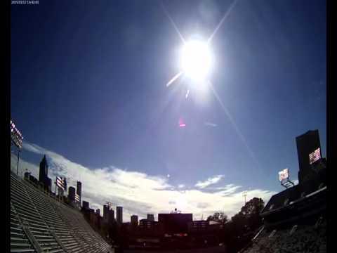 Cloud Camera 2015-11-12: Georgia Tech Bobby Dodd Stadium