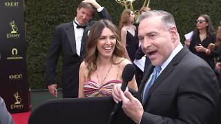 Elizabeth Hendrickson Interview - Ex-Y&R - 45th Annual Daytime Emmys Red Carpet