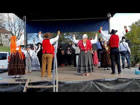 Grupo folclore da casa do povo de creixomil Guimarães